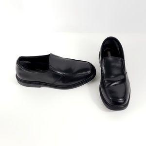 Nunn Bush Dylan Moc Toe Black Slip On Size 11M #S2